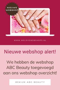 Yes, speciaal voor jou hebben we de ABC Beauty webshop toegevoegd aan We Love Webshops. Deze webshop barst van de fijne nagelproducten van professionele kwaliteit tegen betaalbare prijzen. Kijk je ogen uit en lak je nagels prachtig in welke kleur jij maar wilt! #abcbeauty #beauty #nagels #nailpolish #nagelverzorging #beautywebshop Lak, Nailart, Nail Polish, Beauty, Nail Polishes, Polish, Beauty Illustration, Manicure, Nail Polish Colors