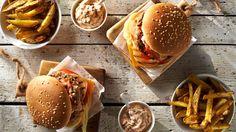 Megahamburgery wieprzowe