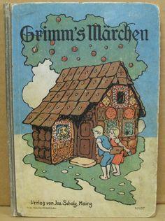 Brüder Grimm: Grimm's Märchen. Eine Auswahl der beliebtesten Märchen von Brüder Grimm. Mainz Verlag Jos. Scholz, ca. 1910,