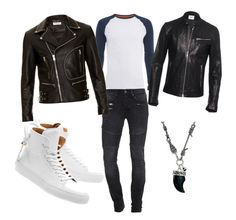 """""""7"""" by eminblazevic on Polyvore featuring TIGHA, Superdry, Dondup, Yves Saint Laurent, BUSCEMI, Vivienne Westwood, men's fashion and menswear"""
