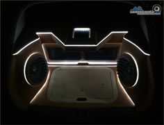 The ambience lights of the car audio custom setup #caraudio #audiomobil #cartensaudio #jakartaselatan