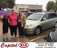 Congratulations to Charles Roof on your #Toyota #Sienna purchase from Ashley Adams at Capitol Kia! #NewCar
