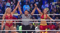 Raw's women win.