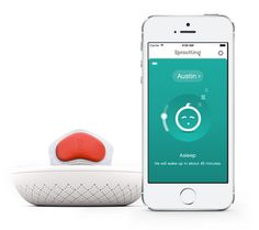 The first baby monitor that senses, learns and predicts a baby's sleep patterns and optimal sleep conditions.