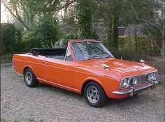 Ford Cortina 1600 GT Crayford Convertible For Sale (1969)