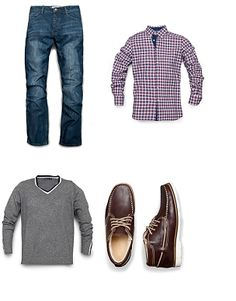 Casual Look For Men, Smart Casual, Casual Looks, Mens Fashion, Fashion Outfits, Me Too Shoes, Gentleman, Menswear, My Style