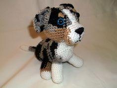 Crochet Dog free pattern in my website: http://horgolasbyblanch.weebly.com/1/post/2014/02/mini-delon-horgolt-kutya.html