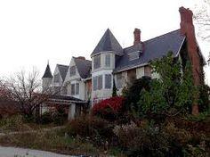 Abandoned Uplands Mansion, Baltimore, Maryland