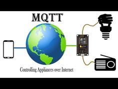Controlling Home appliances using Node MCU via MQTT Very detailed description of MQTT with ESP Esp8266 Projects, Iot Projects, Circuit Projects, Electronics For You, Electronics Projects, Electrical Projects, Home Automation System, Smart Home Automation, Home Design
