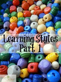 Learning Styles, Part 1
