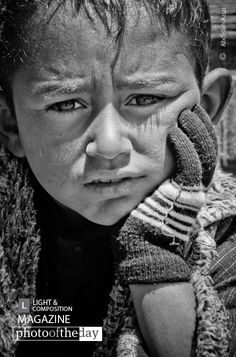 Atlas Child, by Abdellah Azizi - Inside the high mountains of Atlas, this child as they told me, not have a normal life like every child should. When a friend asked him to pose for the camera, all he has to do is to look to it, so he is looking through you.