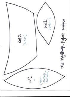 pattern for DIY felt ship