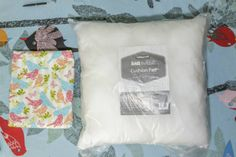 How to Make a Zip-free Cushion Cover #Sewing