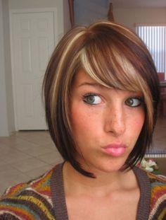 Brown, blonde & red