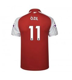 Billiga Arsenal Mesut Ozil 11 Hemmatröja 17-18 Kortärmad Ozil Mesut, Arsenal Fc, Sports, Tops, Fashion, Moda, La Mode, Sport, Shell Tops