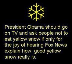 Yellow Journalism vs.Yellow Snow   Nomadic Politics