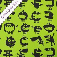 Jersey Monster -  Grün - Vicente von Good Juju Box auf DaWanda.com