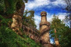 Quinta da Regaleira, em Sintra. Crédito: Quinta da Regaleira