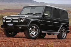 Mercedes g-wagon....dream car