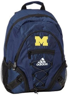 NCAA Michigan Wolverines Laptop Backpack by adidas. Save 19 Off!. $28.31