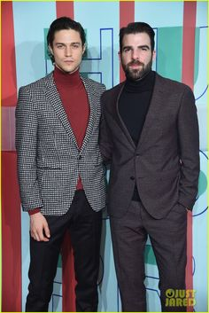 Miles McMillan's turtle neck and jacket