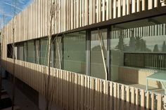 Pablo Ribero specifies Accoya® wood for extension of Caroline School in Valencia, Spain. | Accoya