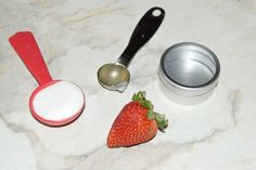 She wanted to feel pampered without spending hundreds of dollars at the salon. This homemade strawberry face scrub was the perfect solution!
