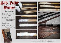 Harry Potter Broom Tutorial