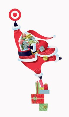 2014 In-Store Holiday Campaign for Target by David Stark in partnership with KNOCK and Lab Partners. Holiday Quotes Christmas, Christmas Kitten, Retro Christmas, A Christmas Story, Christmas Art, Holiday Cards, Holiday Nail Colors, Christmas Graphics, Christmas Illustration