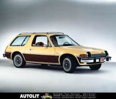 Ahhh...the Pacer. Only in America, and only in the 70's!