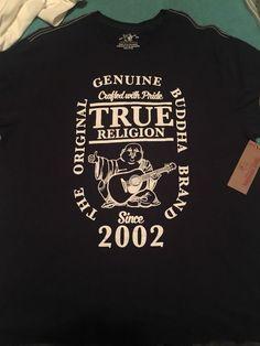 39801c6f035353 Authentic Never Been Worn Genuine Buddha Crew Men Tee From truereligion.com