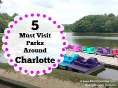 Families - don't miss these greart parks for family fun! Weekend Trips, Day Trips, Charolette North Carolina, Cities In North Carolina, Go Outdoors, Local Attractions, Charlotte Nc, Way Of Life, Summer Fun