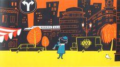 ABC - Retro/Modern advert illustrated by Satoshi Hashimoto www.dutchuncle.co.uk/satoshi-hashimoto-images