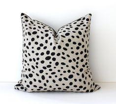 Dalmation print pillow...I want!