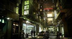 Japan cityscapes Deus Ex: Human Revolution  / 1962x1080 Wallpaper