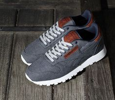 Reebok Classic Leather-Selvage Denim