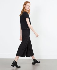 Image 1 of CROPPED SKORTS from Zara