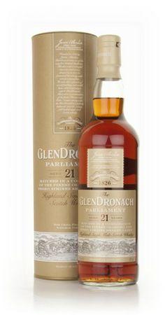 £67 GlenDronach 21 Year Old - Parliament