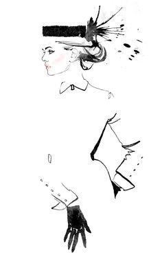 Fashion illustration // Jessine Hein