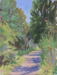 Pecos path by Susan Fuquay Oil ~ 8 x 6