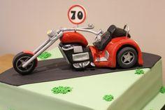Chopper Trike Cake