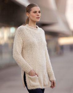 Book Woman Urban 84 Autumn / Winter | 15: Woman Sweater | Beige
