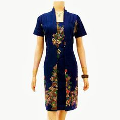 ORDER Call : 081-904-599-516, 087-835-218-426 PIN BB : 249FA83B  Dress Batik Wanita Modern Solo KODE : DB 3145  Harga Retailer : Rp.100.000.-/pcs | stock 1 pcs