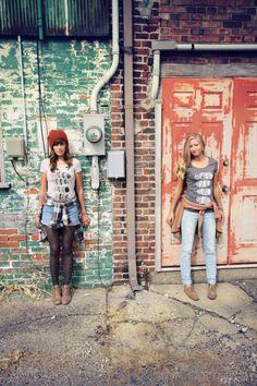 @Megan McCrary & @Sarah Rogers - Photo: @Jenna Marie - #BrineSupply - Feather Design - Psalm 63:7 - www.brinesupply.tumblr.com