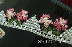 This Pin was discovered by HUZ Needle Lace, Knots, Needlework, Elsa, Diy And Crafts, Embroidery, Sewing, Knitting, Handmade