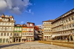 Largo do Toural Fotos de Guimarães | Turismo en Portugal