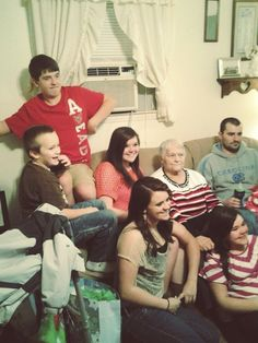 Family at Christmas<3
