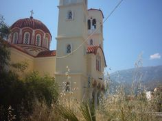 The main church in the village of Georgioupoli.