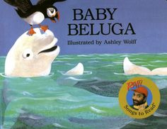 This book was inspired by Raffi, a very popular children's entertainer, who wrote the song Baby Beluga. It tells the story of one little beluga whale's daily adventures in the deep blue sea.