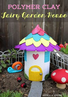 Make Your Own Fairy Garden Houses